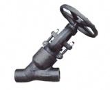 Y-Type Pressure Seal Bonnet Forge Steel Globe Valve