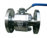 2PCS Body Forged Steel Floating Ball Valve