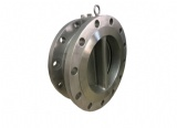 Double Flange Dual Plate Swing Check Valve