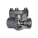 Forged Steel Piston Check Valve, Threaded, Welded, Flanged