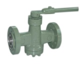 Pressure balance lubricated plug valve
