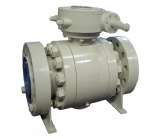 Forge Steel Trunnion Mounted Ball Valve